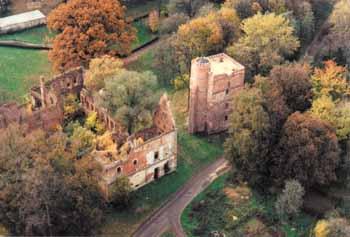 Ruiny zamku w Miliczu